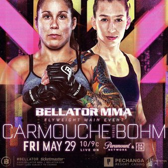 Carmouche meets Bohm in Bellator 243 headliner