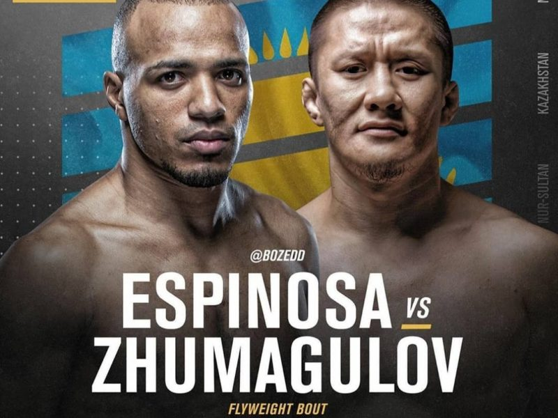 Trio of bouts announced for the UFC's first trip to Kazakhstan