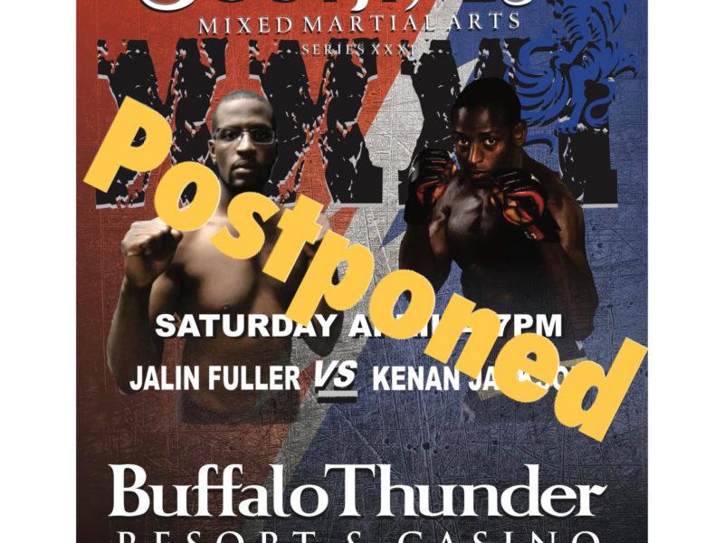Southwest MMA Series XXXI Postponed
