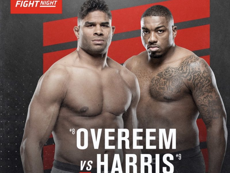May 16th UFC Fight Night to be headlined by Harris vs. Overeem