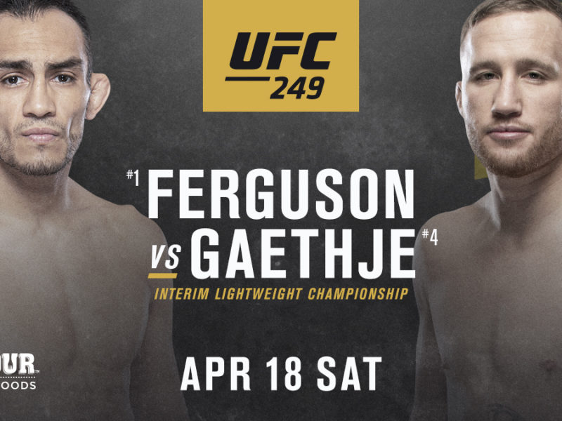 12-fights announced for UFC 249