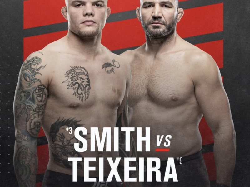 UFC Fight Night Smith vs. Teixeira Weigh-in Results, one fighter heavy