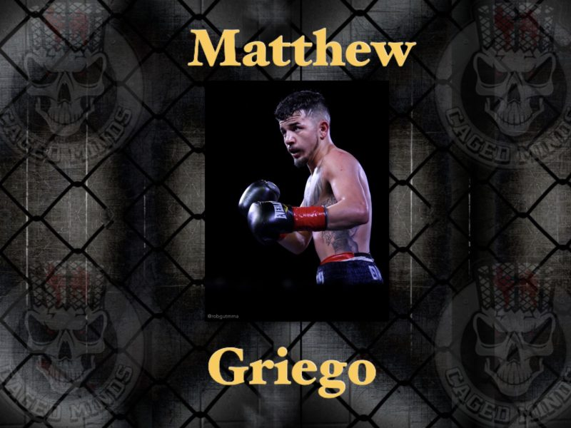 Matthew Griego- keeping himself busy & going a day at a time