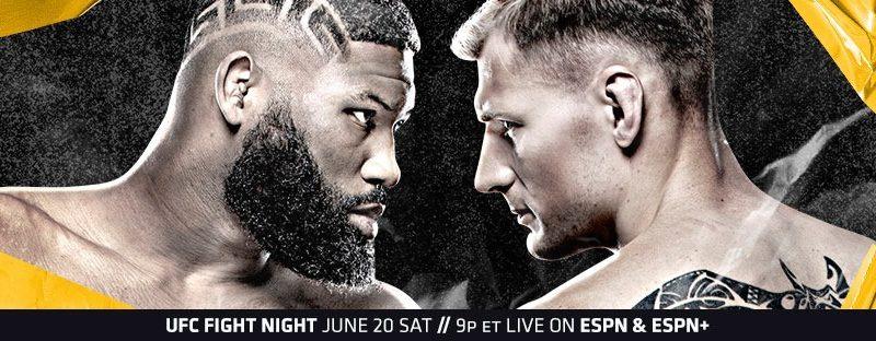 UFC Fight Night Blaydes vs. Volkov Weigh-in Results