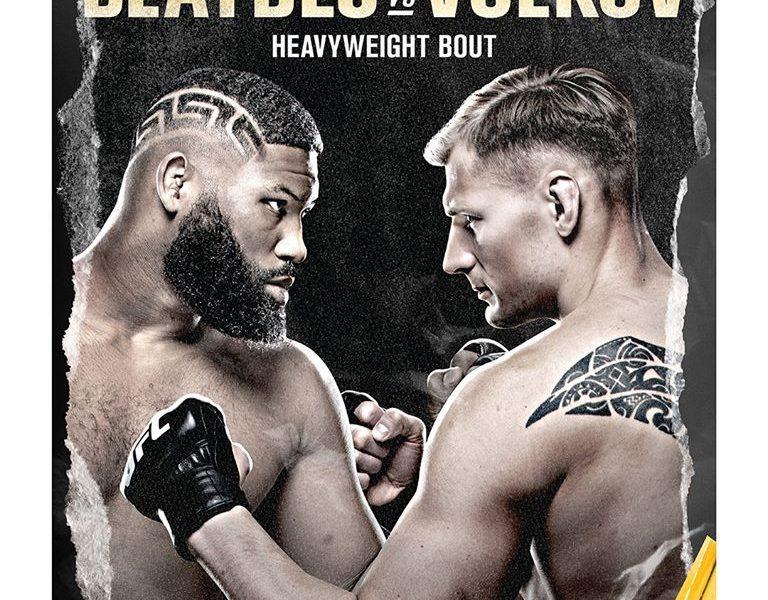 UFC Fight Night Blaydes vs. Volkov Results
