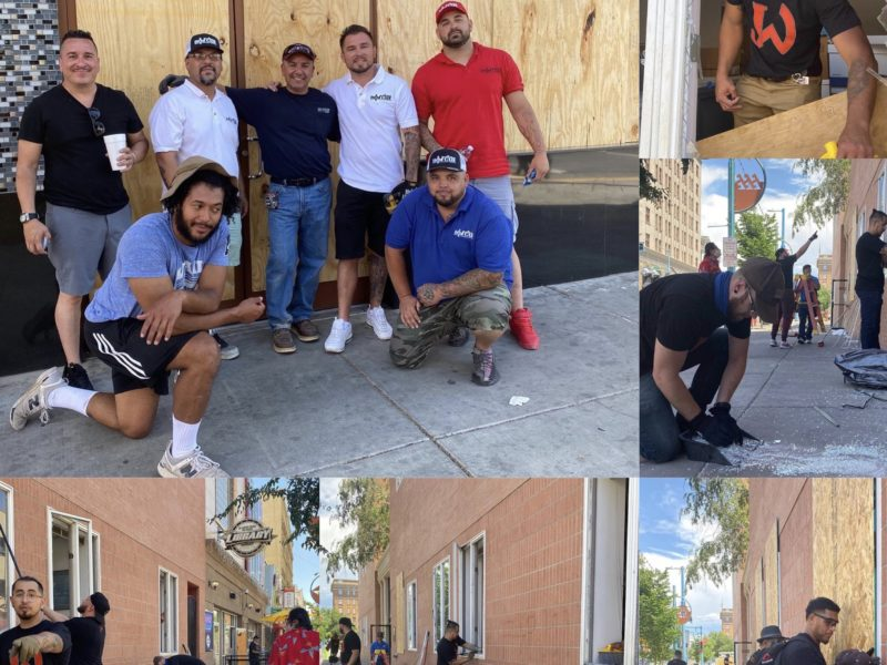 Champions cleaning up Downtown ABQ