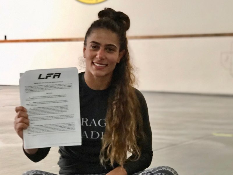 Prospect Tabatha Ricci signs with LFA