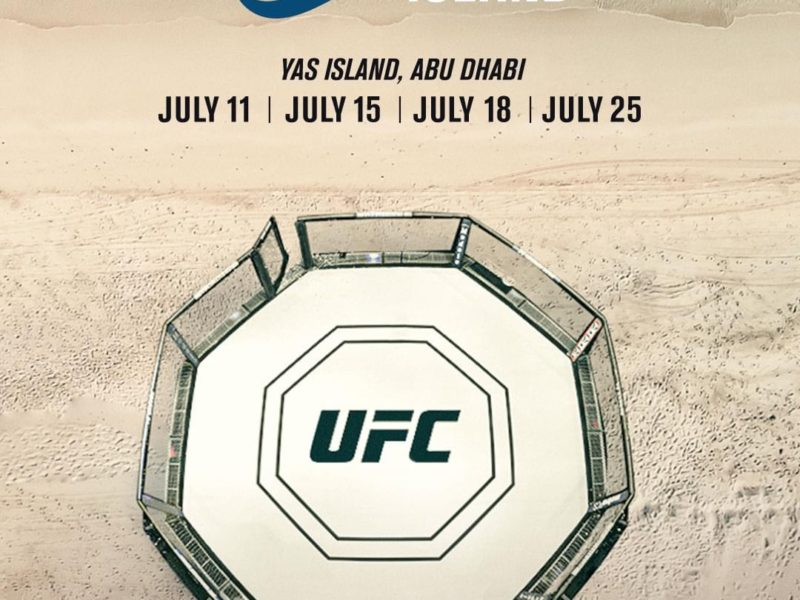 Fight Island Cards Fully Announced