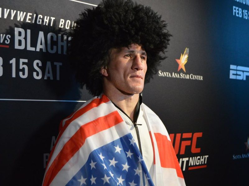 Borg vs. Dvalishvili helps Finalize June 13th UFC Fight Night Card