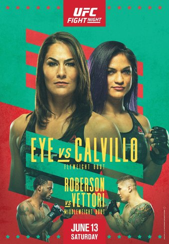 UFC Fight Night Eye vs. Calvillo results