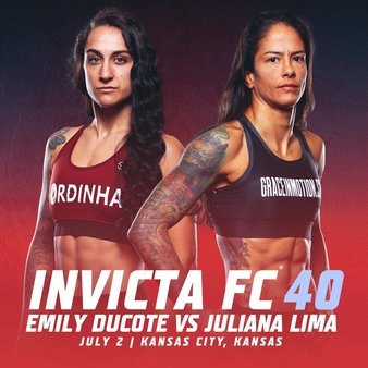 Invicta FC Returns in July with Ducote vs. Lima