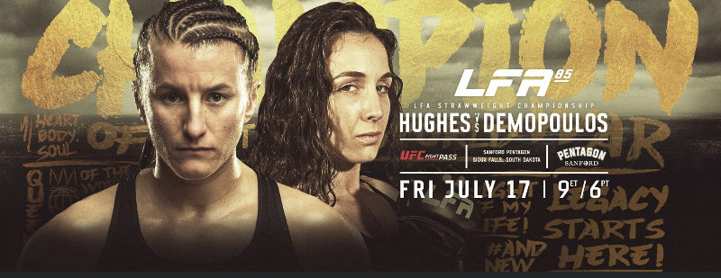 One fight scrapped from LFA 85, everyone else makes weight