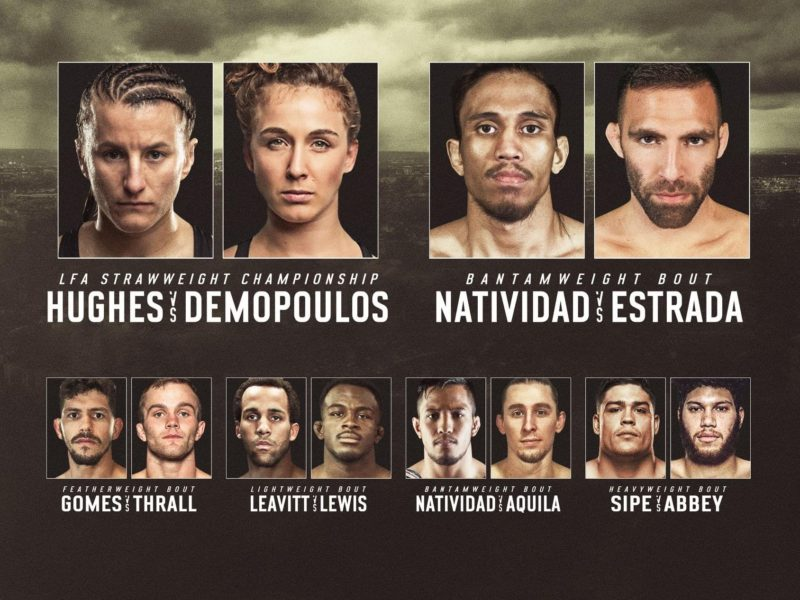 LFA 85 Results, Demopoulos Chokes Out Hughes to Win Championship