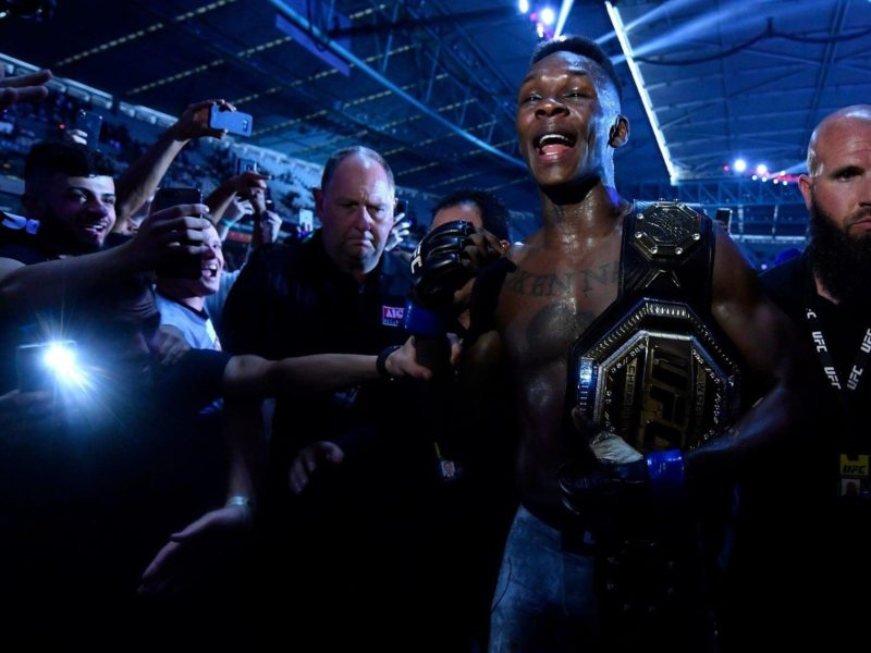 Middleweight Title Bout to headline UFC 253