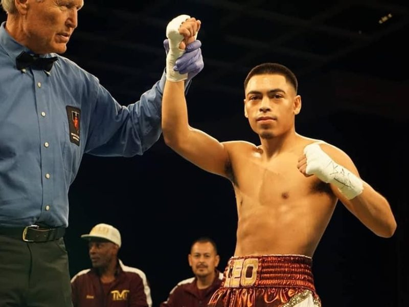 Angelo Leo now facing Tramaine Williams for WBO Jr. Featherweight Title