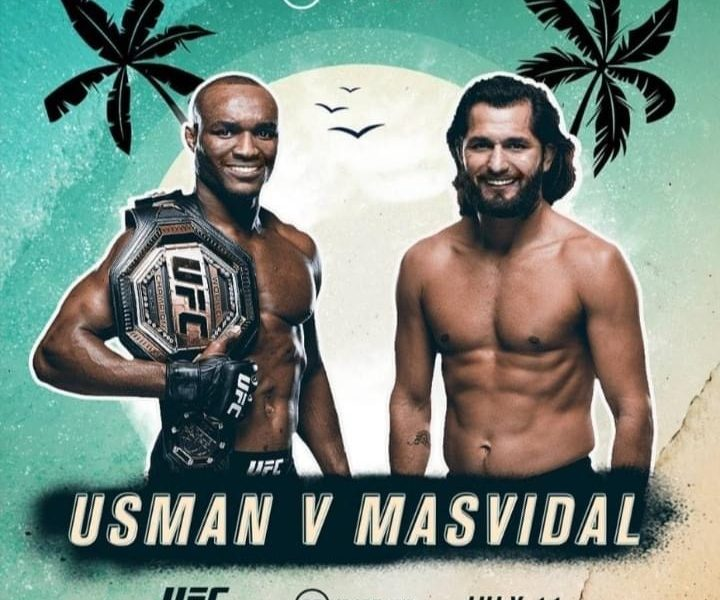 Usman vs. Masvidal nearly official for UFC 251