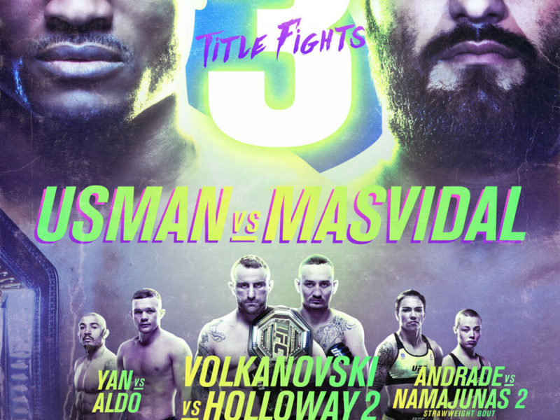 UFC 251 Quick Results