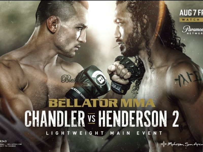 Chandler vs. Henderson 2 Headlines Bellator 243