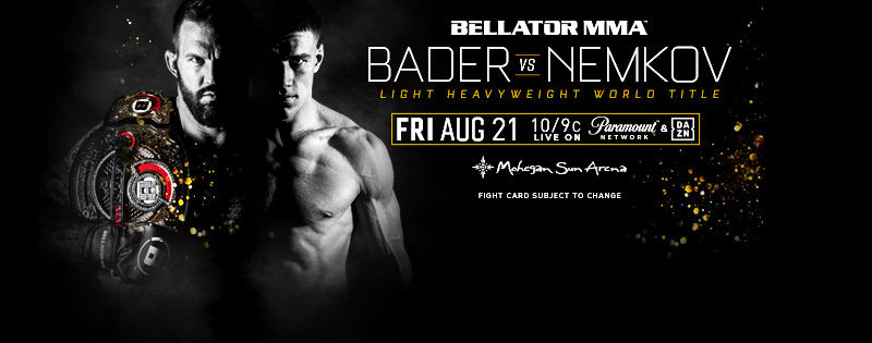 One fighter heavy at Bellator 244 Weigh-ins