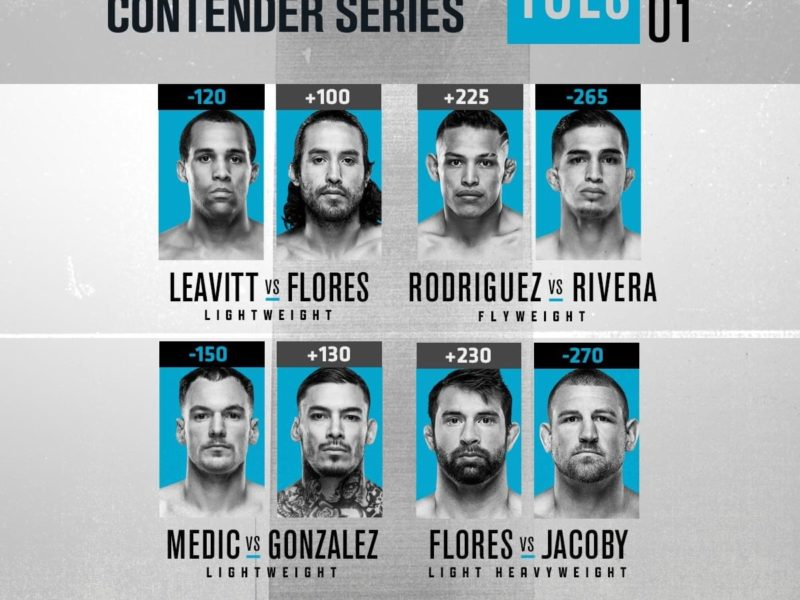 DWCS 2020 Week 1, three contracts handed out