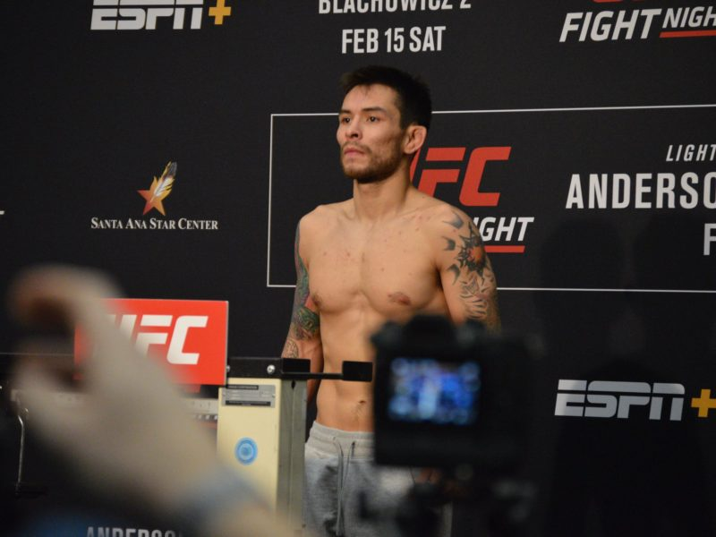 UFC has Parted way with Ray Borg