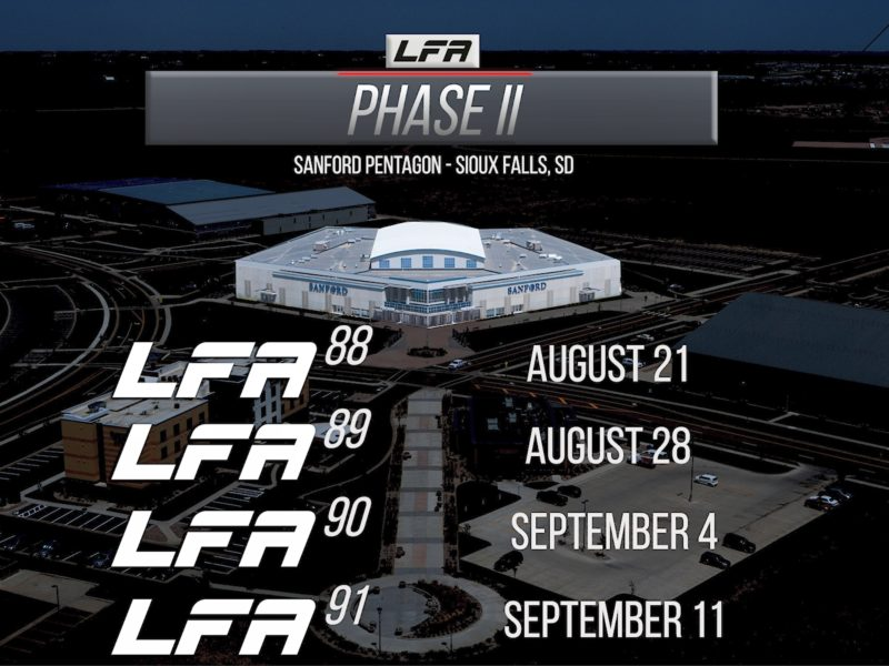 More info on LFA's 4 Events for Phase 2