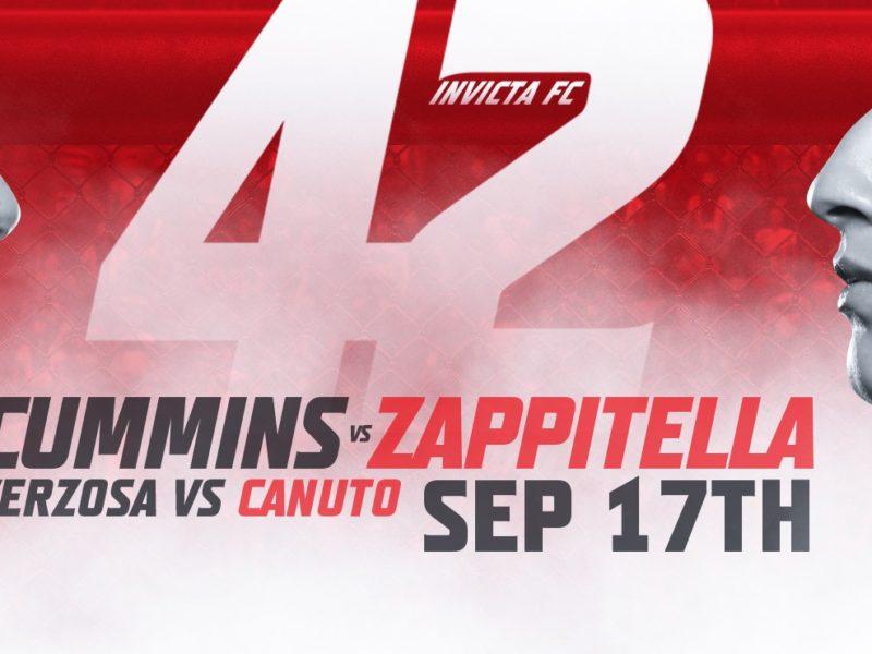Invicta FC 42 Easy Read Results,