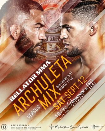 Bellator 246 Results, Archuleta out strikes Mix to take the title