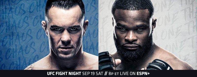 """UFC Fight Night """"Covington vs. Woodley"""" weigh-ins, Everyone on weight"""