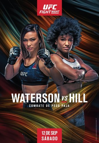 """UFC Fight Night """"Waterson vs. Hill"""" Results, Waterson edges Hill"""