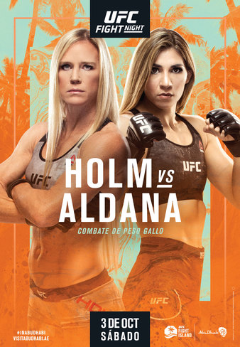 "UFC Fight Night ""Holm vs. Aldana"" Easy Read Results"