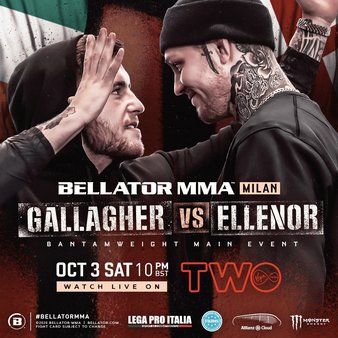 Bellator Euro Series 9 Easy Read Results
