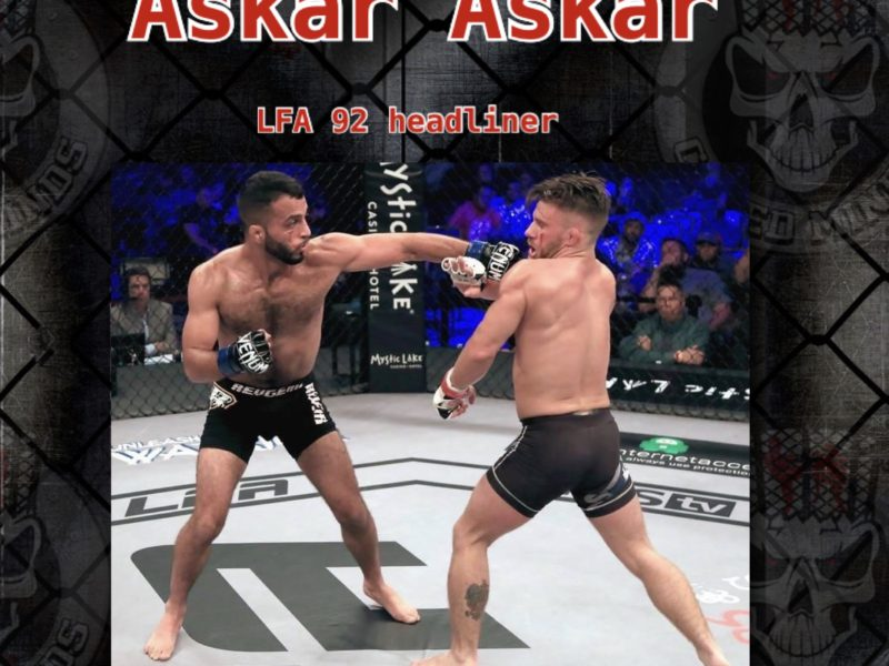 Askar Askar- There's Nothing else I'd rather be doing then MMA