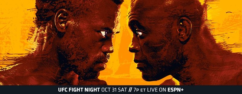 "UFC Fight Night ""Hall vs. Silva"" Weigh-in Results, 1 fight cancelled, 2 Competitors Heavy"