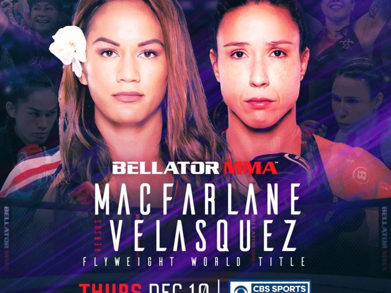 Macfarlane defends title against Velasquez in Bellator 254 headliner