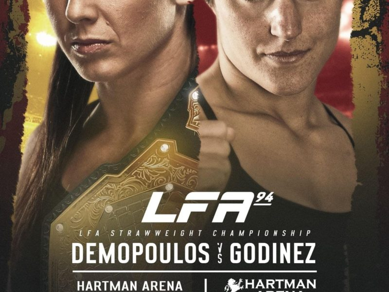Demopoulos vs. Godinez Title Bout headlines LFA 94