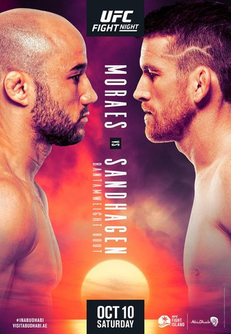 "UFC Fight Night ""Moraes vs. Sandhagen"" Easy Read Results"