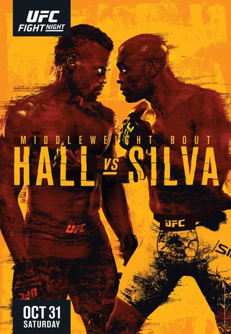 "UFC Fight Night ""Hall vs. Silva"" Easy Read Results"