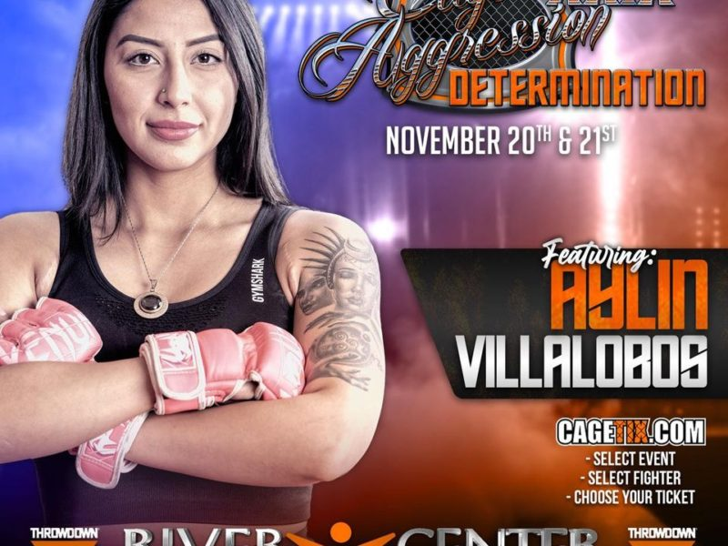 Aylin Villalobos talks Caged Agression 29, Improving her Game, & Keeping Goals Realistic