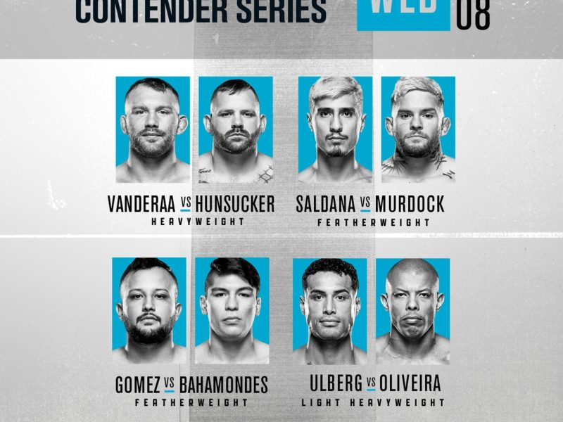 2020 Contender Series, Episode 8 Easy Read Results