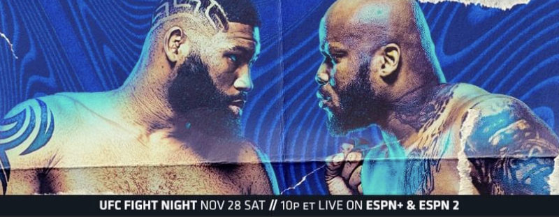 "UFC Fight Night ""Blaydes vs. Lewis"" Weigh-in Results, New main event in place & one Fighter Heavy"