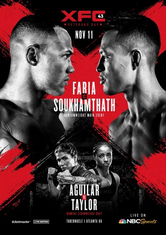 XFC 43 Easy Read Results