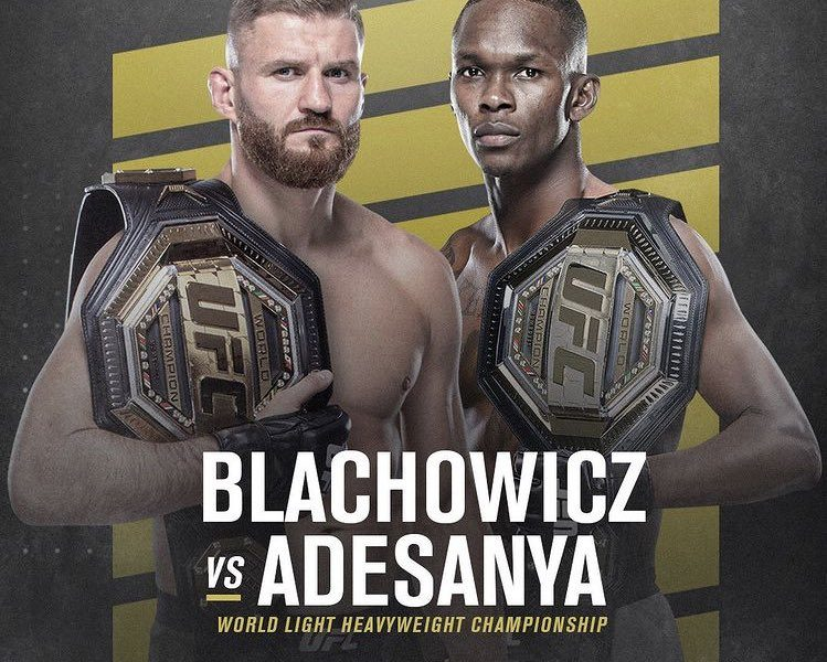 Blachowicz vs. Adesanya targeted for UFC 259