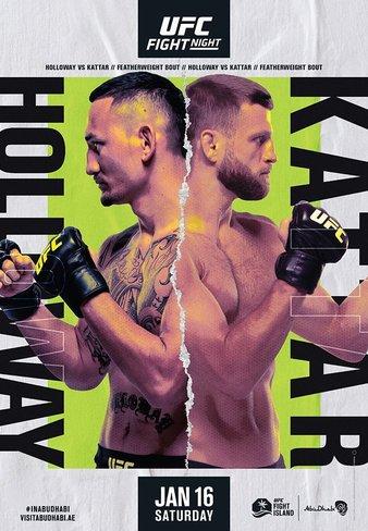 """UFC Fight Night """"Holloway vs. Kattar"""" Easy Read Results"""