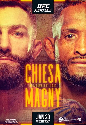 """UFC Fight Night """"Chiesa vs. Magny""""  Results"""