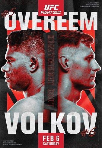 "Simply Results: UFC Fight Night ""Overeem vs. Volkov"""