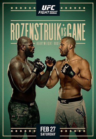 "Simply Results: UFC Fight Night ""Rozenstruik vs. Gane"""
