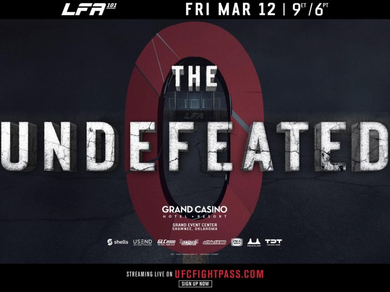 LFA 101 to feature 14 unbeaten fighters