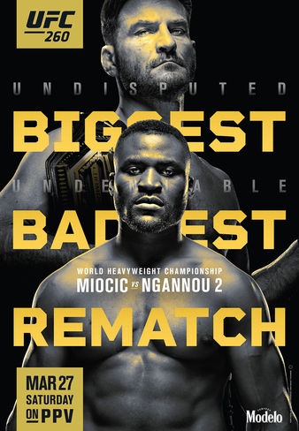 Simply Results: UFC  260