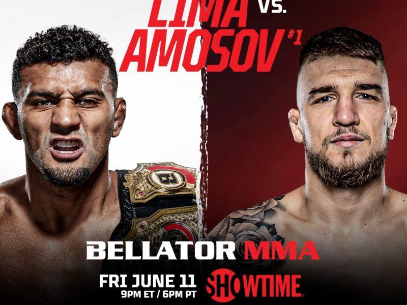 Lima-Amosov Title Fight Headlines Bellator 260